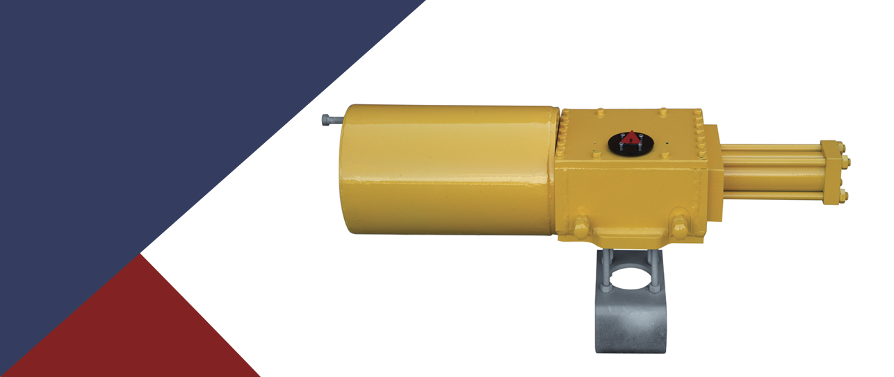 KSYH/KSYHM Series - PNEUMATIC ACTUATORS